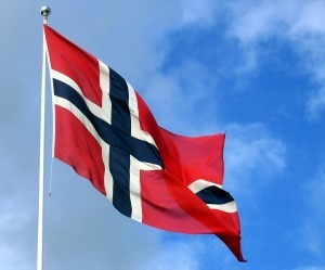 Norsk flagg 17 mai Selbu
